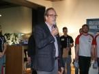 Urs Wernli, le président central de l'UPSA, rend hommage aux candidats et aux experts pour leur remarquable implication.