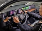 Digitalisierung und Infotainment sind eine der Technik-Megatrends. Selbst im Hondae, dem neuen BEV-Kleinwagen, nehmen die Bildschirme fürs Infotainment die ganze Fahrzeugbreite ein. (Bild: Honda)